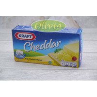 Keju Kraft Cheddar 165Gr