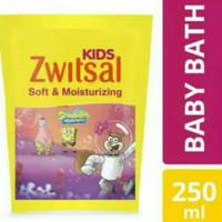 Zwitsal Kids Bubble Bath Pink 250ml Refill Sabun Mandi Cair Anak
