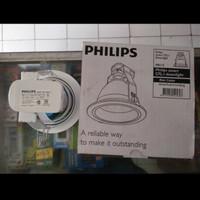 Kap Lampu Downlight Philips FBS115 FBS 115 5inch 5 inchi PUTIH