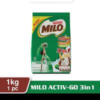 MILO 3 in 1 1 kg (susu dan gula)