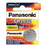 Baterai CR2032 Panasonic Batere Tuner Jam Kalkulator Timbangan 2032