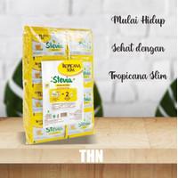 Tropicana Slim Stevia Gula Rendah Kalori -100 Sachet