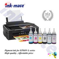 Tinta Pigment Printer EPSON L series L120/L210/L360/L550/R230/1390 - Hitam