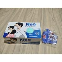 Masker Medis Neo Health 3Ply Isi 50 Pcs Earloop