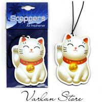 Sceppers Parfum Mobil Pengharum Kertas Gantung - Maneki Neko Lucky Cat