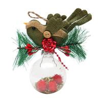 Gantungan Bola Natal Burung-Gantungan Natal-Aksesoris Natal