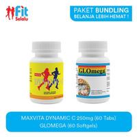 Paket Ekonomis : Dynamic C 250mg 60 Tablet & Glomega 60 Softgel