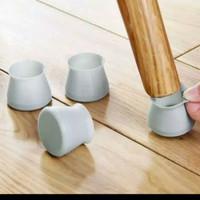 Alas kaki meja silikon anti slip gores 4 pcs pelindung kursi furniture