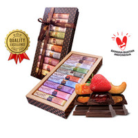 Chocolate Batik Gift Box 10 x 40gr | Cokelat Jogja | Chocolate Monggo