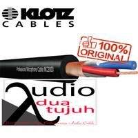 Kabel microphone Klotz MC 2000 konektor Neutrik NC3MXX & NC3FXX - 1 Meter