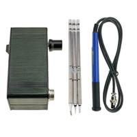 KSGER Mini T12 Stasiun Solder STM32 V2.1S OLED Alat Pemanas DIY FX9501