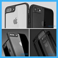 Casing iPhone X 6 7 8 Plus Premium Transparan Clear Thin Soft Case