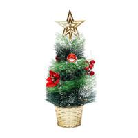 Mini Christmas Tree, Pohon Natal Mini, Pajangan Pohon Natal 40cm