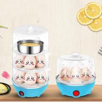 Perebus Telur Elektrik 3 Susun - Electric Egg Cooker Boiler Steam