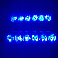 LAMPU LED STROBO GRILL UNIVERSAL 6 MATA LED 5 WATT FEDERAL SIGNAL