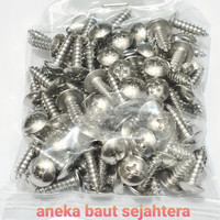 Sekrup TS 8x1/2 Stainless Steel
