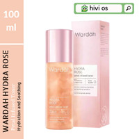 Toner Hydra Rose Wardah Hydration Petal Infused