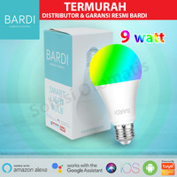 BARDI Smart Light Bulb LED 9W RGBWW Wifi Wireless IoT Home Automation