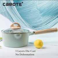 Carote Cosy Blue Sauce Pan With Lid 18 Cm