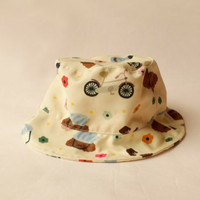 KELLY'S.CO BUCKET HAT - POODLE ON BICYCLES