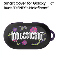 Samsung Galaxy Buds/ Plus Case Smart Cover by Samsung Korea Maleficent