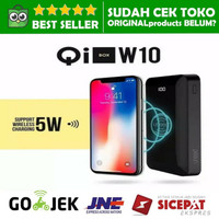 WIRELESS POWERBANK 10000 MAH UNEED FAST CHARGE W10 POWER BANK USB C 5W