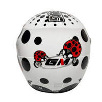 GM HELM EVO LADY BUGS | WHITE | - DEWASA