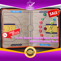 Basket Note Strategi Pelatih Tactic Board Magnet BasketBall 0642