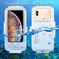 Puluz Diving Waterproof Case 45 Meter Underwater IPX8 iPhone XS Max
