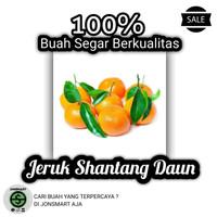 Buah Jeruk Shantang Daun 1kg - Jon$mart