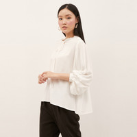 NONA Frilly Top White