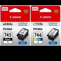 PAKET TINTA CATRIDGE CANON 745s Black + 746s Color