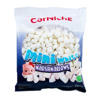 CORNICHE Mini White Marshmallows 200g - Marshmalow Kecil Warna Putih