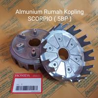 HONIDA~Almunium rumah kopling only Scorpio ( 5BP )