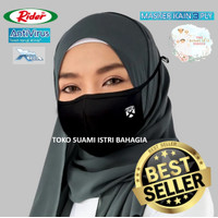 Masker Hijab Dewasa Rider Anti Virus 3 Tiga Lapis Triple Protection