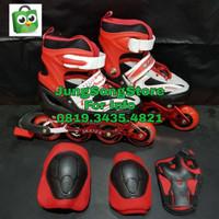Sepatu Roda Anak Inline Skate Bisa Set Roda Bajaj - Biru