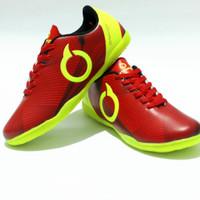 sepatu futsal ortus terlaris - Merah Hijau, 39
