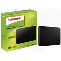 Hardisk Toshiba Basic Canvio 1TB / Hdd External 1TB USB3
