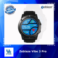 Zeblaze Vibe 3 PRO Full Touchscreen Smartwatch IP67 Heart Rate - Black