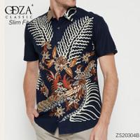 Hem Batik Solo Pria Baju Kemeja Lengan Pendek Batik Reguler TOP22