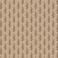 Kertas Kado Harvest / Wrapping Paper Brown Craft - Tree