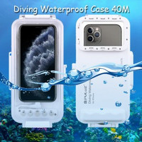 Puluz Diving Waterproof Case 45 Meter Underwater IPX8 iPhone 11 Pro