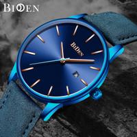 jam tangan BIDEN fashion leathre band casual bisnis sport style jam