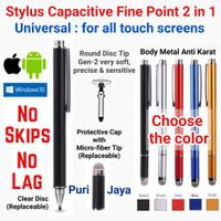 Stylus Capacitive Pen Fine Point 2 in 1 Universal Disc Adonit Jot Pro