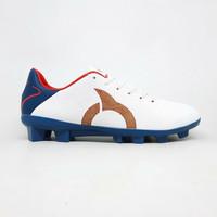 Sepatu bola Ortuseight original Tempest FG white navy new 2020