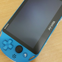 PS VITA SLIM PCH2006 HENKAKU 64GB FULL GAME - Biru