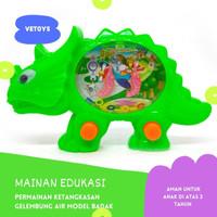 TERMURAH! Water Game Gelembung Air Mainan Edukasi Anak Model Badak