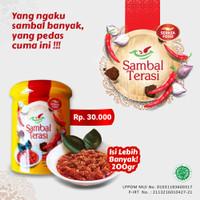 Serasa Food - Sambal Terasi Botol Plastik 200gr