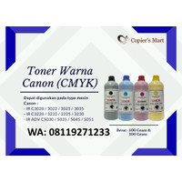 TONER WARNA MESIN FOTOCOPY CANON IR ADV C5035 5045 CMYK