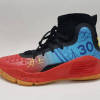 SEPATU BASKET UNDER ARMOUR CURRY 4 PREMIUM ORIGINAL